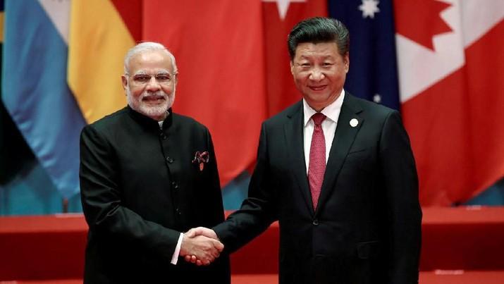 PM India Narendra Modimenawarkan konektivitas maritim dengan China.