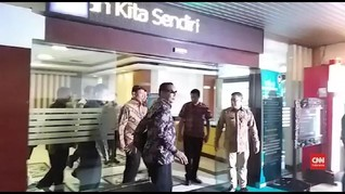 VIDEO: Momen Wiranto Hadiri Perpisahan di Kemenko Polhukam