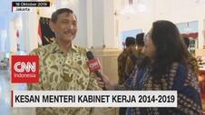 VIDEO: Kesan Menteri Kabinet Kerja 2014-2019