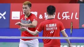 Kalahkan Ahsan/Hendra, Marcus/Kevin Juara Denmark Open 2019
