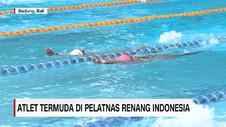 VIDEO: Atlet Termuda di Pelatnas Renang Indonesia