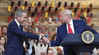 Undang Trump Buka Pabrik, Louis Vuitton Terancam Diboikot