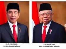 Jokowi-Amin Dilantik Siang Ini, Simak Rundown Acaranya