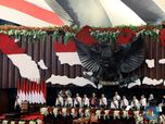 Mengintip Gedung DPR/MPR Sebelum Pelantikan Jokowi Besok