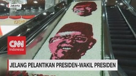 VIDEO: Persiapan Jelang Pelantikan Presiden-Wakil Presiden