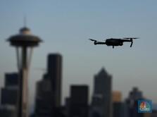 Pakai Drone, Malaysia Cek Suhu Warga dari Ketinggian 20 Meter