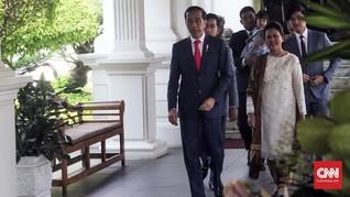 Makna Batik Iriana Jokowi saat Pelantikan Presiden 2019