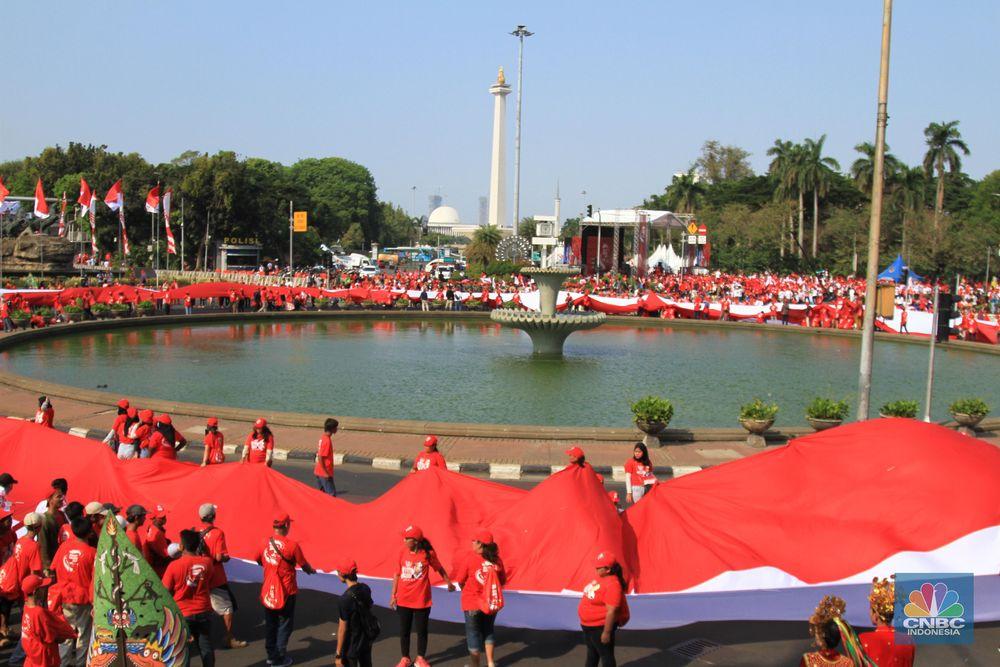 Pesta rakyat untuk merayakan pelantikan presiden dan wakil presiden terpilih.