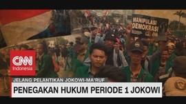 VIDEO: Penegakan Hukum Periode 1 Jokowi
