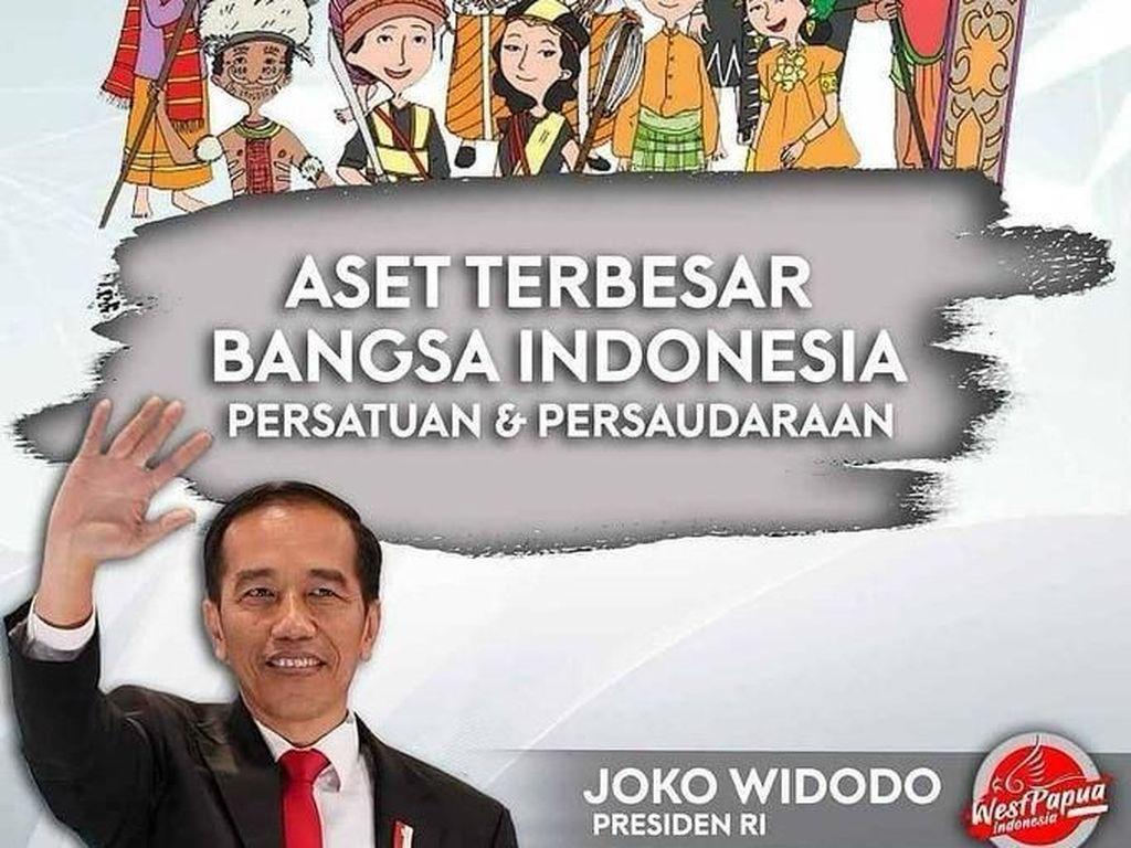 Banyak yang berharap persatuan dan kesatuan Indonesia bisa makin erat lagi (Twitter)