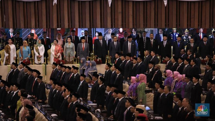 Joko Widodo (Jokowi) resmi menjadi Presiden untuk periode keduanya. Hal ini setelah membacakan sumpah di hadapan MPR.