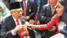 Ma'ruf Amin: Terorisme Bemula dari Intoleran