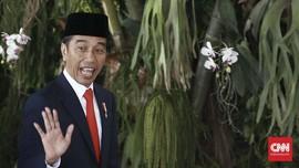 Ratusan Paspampres Bentuk Barikade Usai Jokowi Dilantik