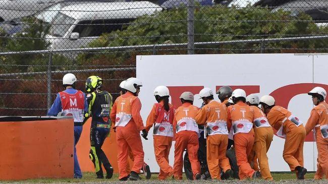 Rossi Cemburu Lihat Kemenangan Marquez di MotoGP Jepang