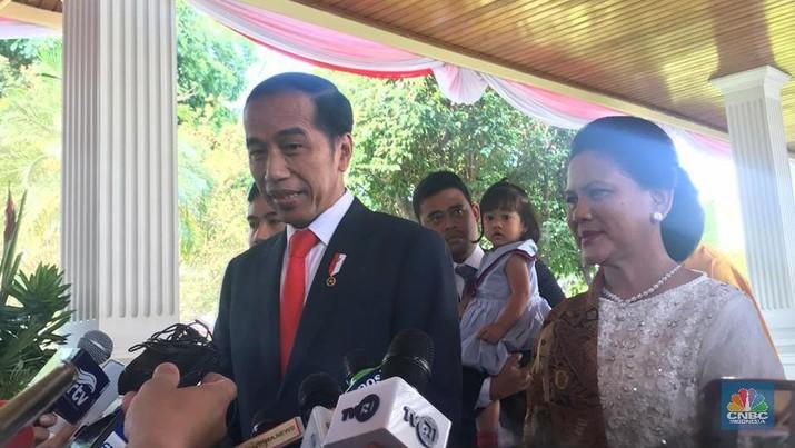 Presiden Joko Widodo (Jokowi) siap memperkenalkan jajaran kabinet barunya pada besok, Senin (21/10/2019).