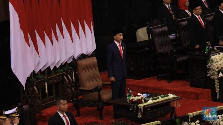 Jokowi tak ingin birokrasi di periode dua ini hanya sekedar sent saja tapi tidak terdelivered.