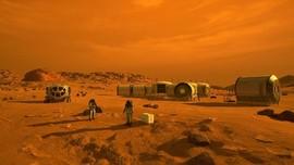Perlu 20 Tahun untuk Membangun Kota Pertama di Mars