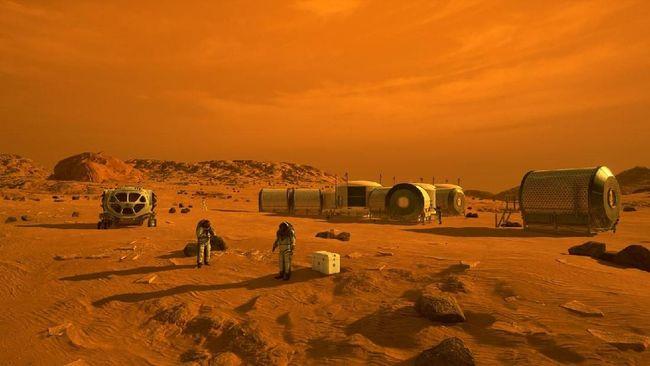 NASA Sebut Perempuan Akan Jadi Manusia Pertama di Mars