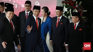 Bamsoet Puji Kehadiran SBY dan Megawati di Pelantikan Jokowi