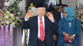 Ma'ruf Ingin Indonesia Jadi Rujukan Pengetahuan Islam Dunia