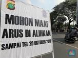 Jelang Pelantikan Jokowi-Amin, Ini Suasana Jakarta Terkini