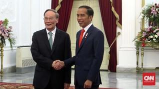 Usai Dilantik, Jokowi Terima Wapres China dan Utusan AS