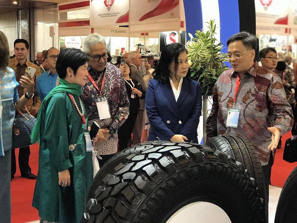 Gajah Tunggal Kembali Dipercaya di Trade Expo Indonesia 2019