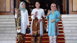FOTO: Busana-busana Terbaik di Pelantikan Presiden 2019