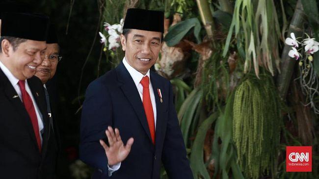 Arti Dasi Merah Jokowi-Ma'ruf saat Pelantikan Presiden 2019
