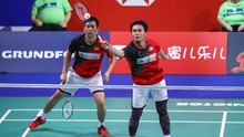 Ahsan/Hendra Gagal Sempurna di Grup B BWF World Tour Finals