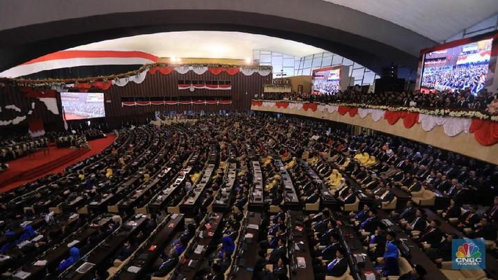 Wacana itu muncul selepas pertemuan antara Ketua MPR RI Bambang Soesatyo dengan Ketua Umum PBNU KH Said Aqil Siroj di kantor PBNU, Jakarta, Rabu (27/11/2019).