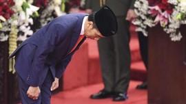 FOTO : Pelantikan Jokowi-Ma'ruf Amin di MPR