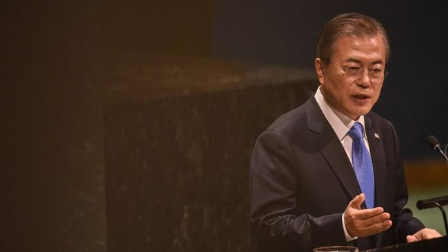 Presiden Korsel Ucap Selamat ke Jokowi Pakai Bahasa Indonesia