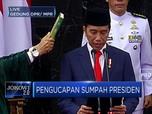 Detik-Detik Jokowi - Maruf Amin Ucap Sumpah