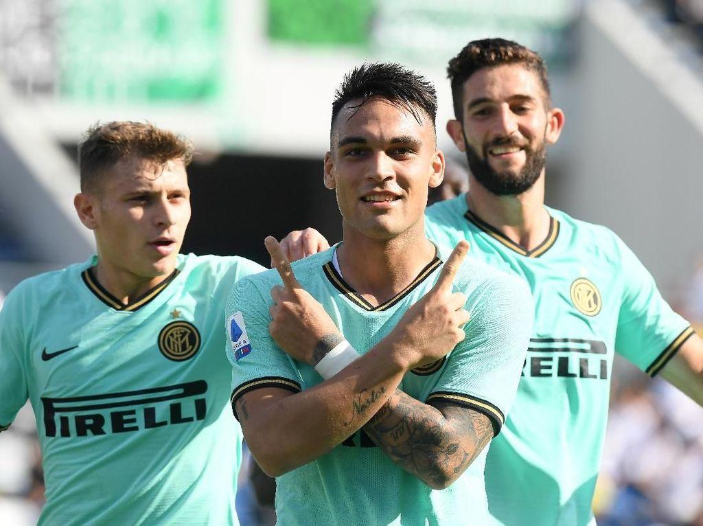 Saat ini Inter mengantongi total 21 poin dari 8 laga.