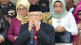Ma'ruf Amin Dukung Siapa Pun Menteri yang Ditunjuk Jokowi
