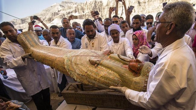 Sebab Kematian Nesyamun, Mumi 3.000 Tahun yang Bersuara Lagi