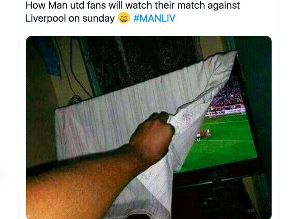 Jelang Lawan Liverpool, Manchester United Diserang Netizen