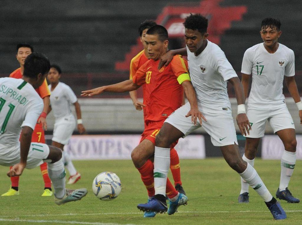 Timnas U-19 Ditaklukkan China 1-3