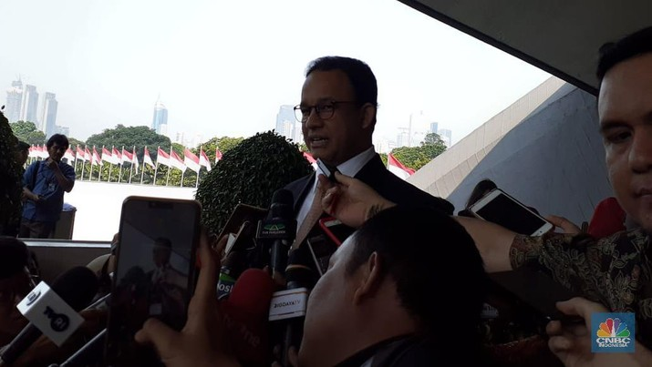 Anies: Ada Tetangga Baru, Pak Ma'ruf  Paham Jakarta