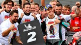 Fabio Quartararo sukses memastikan gelar rookie terbaik di MotoGP 2019 setelah finis di posisi kedua pada balapan MotoGP Jepang 2019. (Toshifumi KITAMURA/AFP)