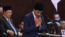 Jokowi Berterima Kasih ke TNI-Polri-BIN Amankan Pelantikan