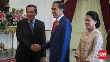Jelang Dilantik, Jokowi Tawarkan Produk PT Inka ke PM Kamboja