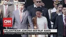 VIDEO: Rombongan Presiden Jokowi Tiba di Kompleks Parlemen RI