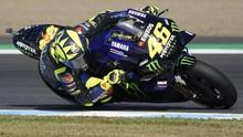 Rossi Mengaku Salah di MotoGP Jepang 2019