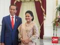 Canda dan Senyum Jokowi Sebelum Pelantikan