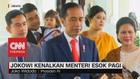 VIDEO: Jokowi Kenalkan Menteri Senin Besok