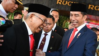 Penobatan Kaisar Jepang, Ma'ruf Amin Hadir Wakili Jokowi
