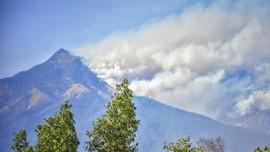 Hutan Terbakar, Pendakian Gunung Rinjani Ditutup