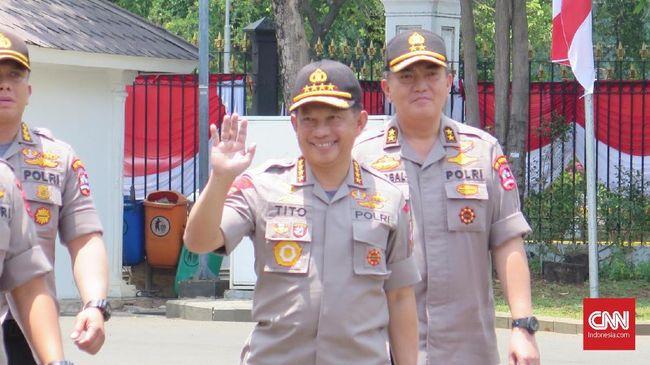 Tito Benarkan Kabareskrim Idham Aziz Jadi Kapolri